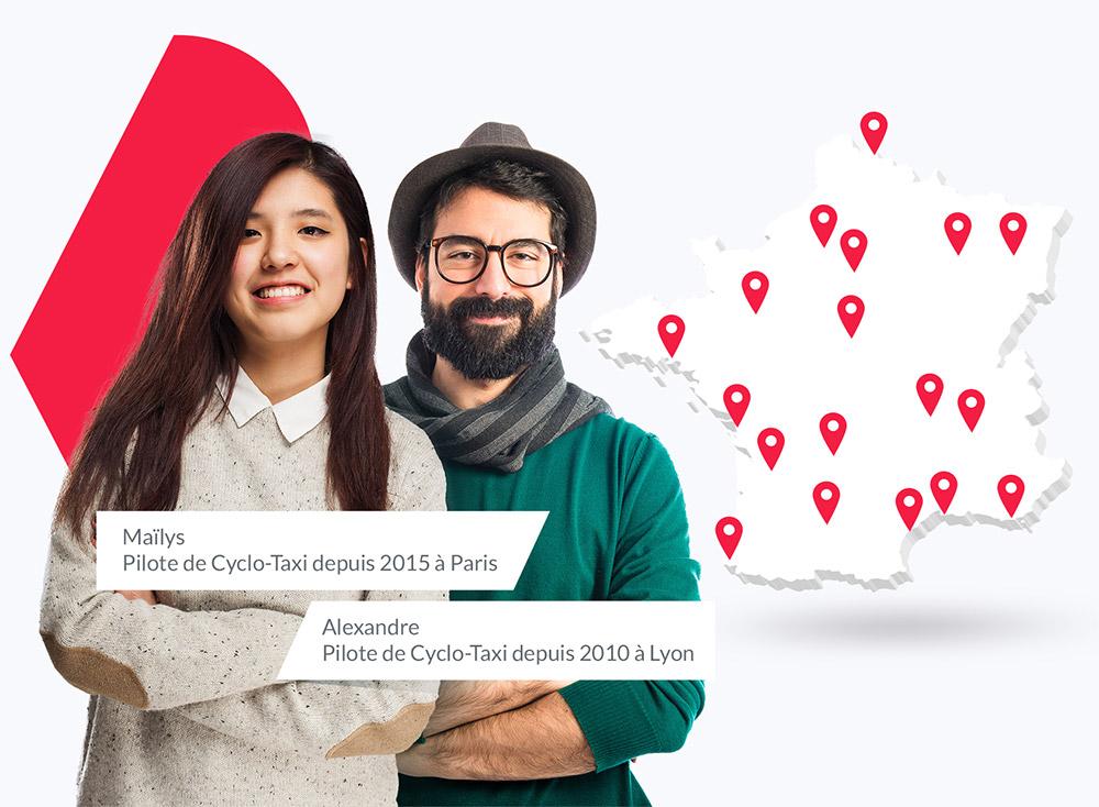 Le réseau des entrepreneurs en triporteur