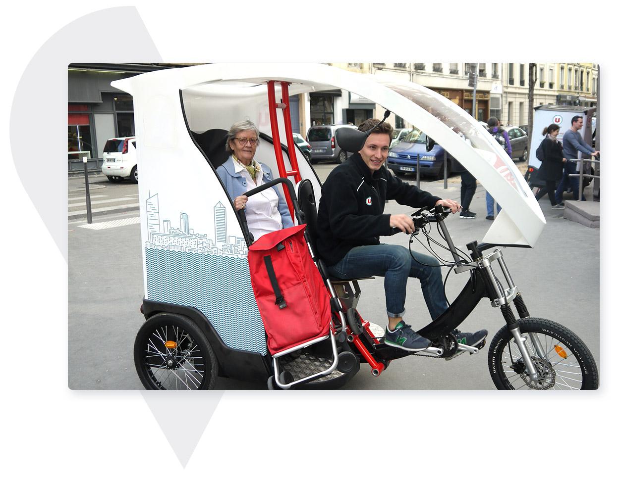Yokler X Vélotaxi électrique