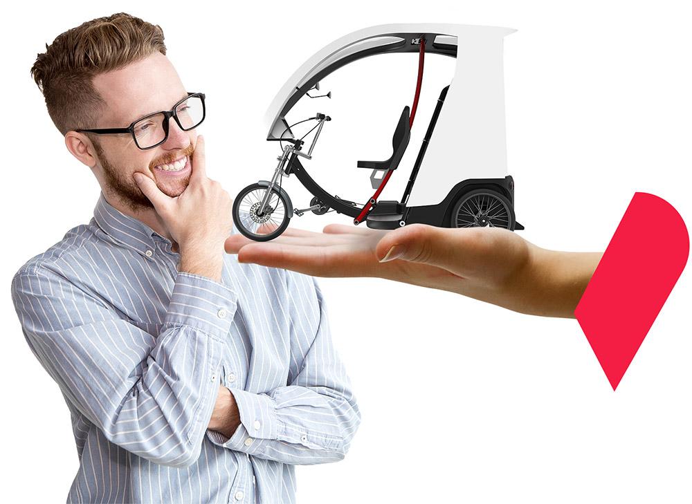 auto-entrepreneur vélotaxi
