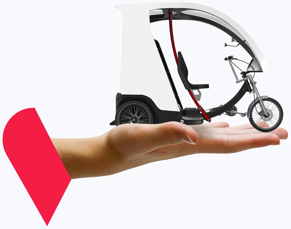 Yokler X pedicab