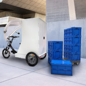 Buy a professional electric cargo bike to transport goods