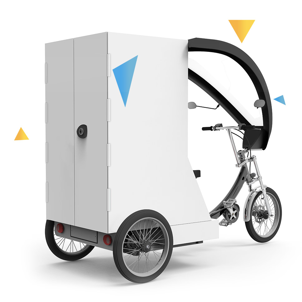 yokler u cargo tricycle