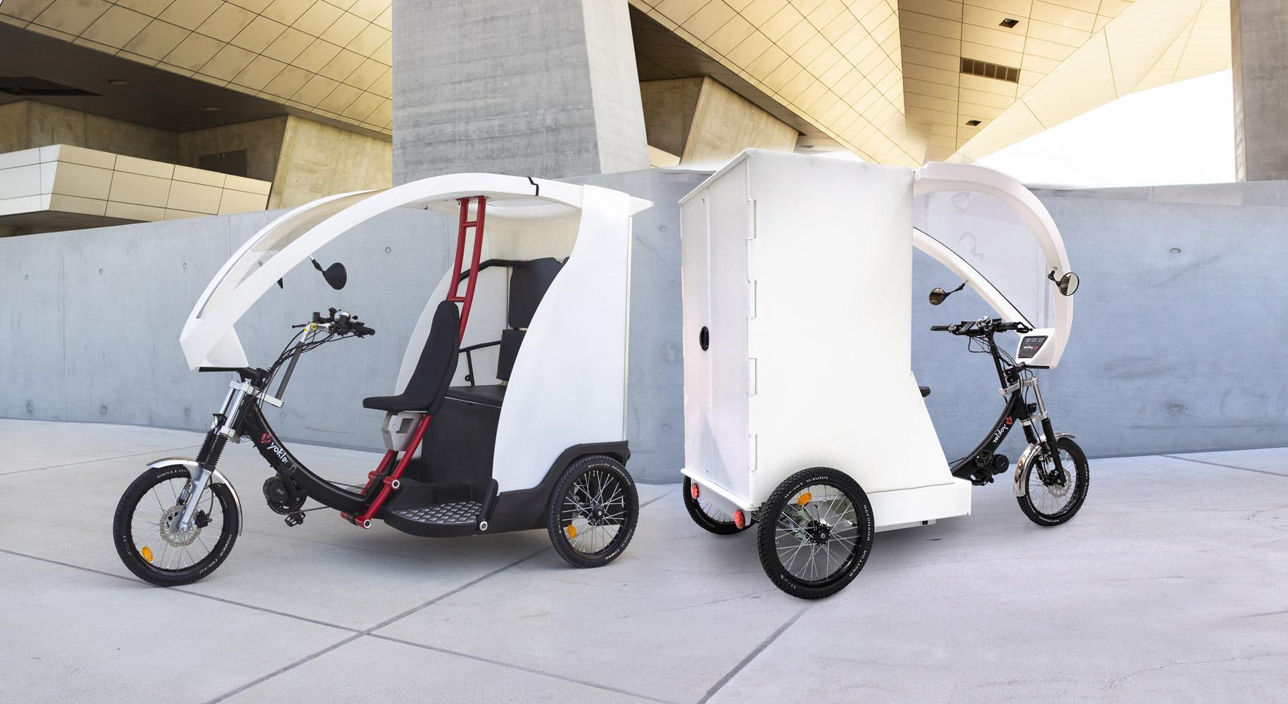 Vélotaxi - Cargobike