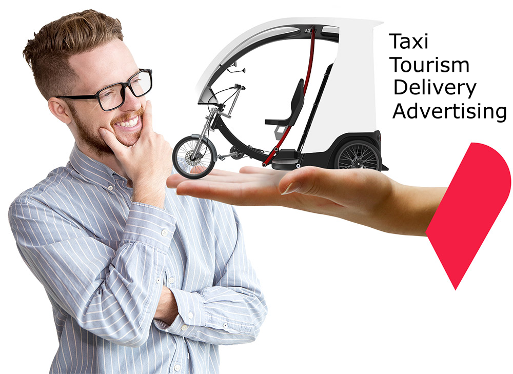 build business with pedicab