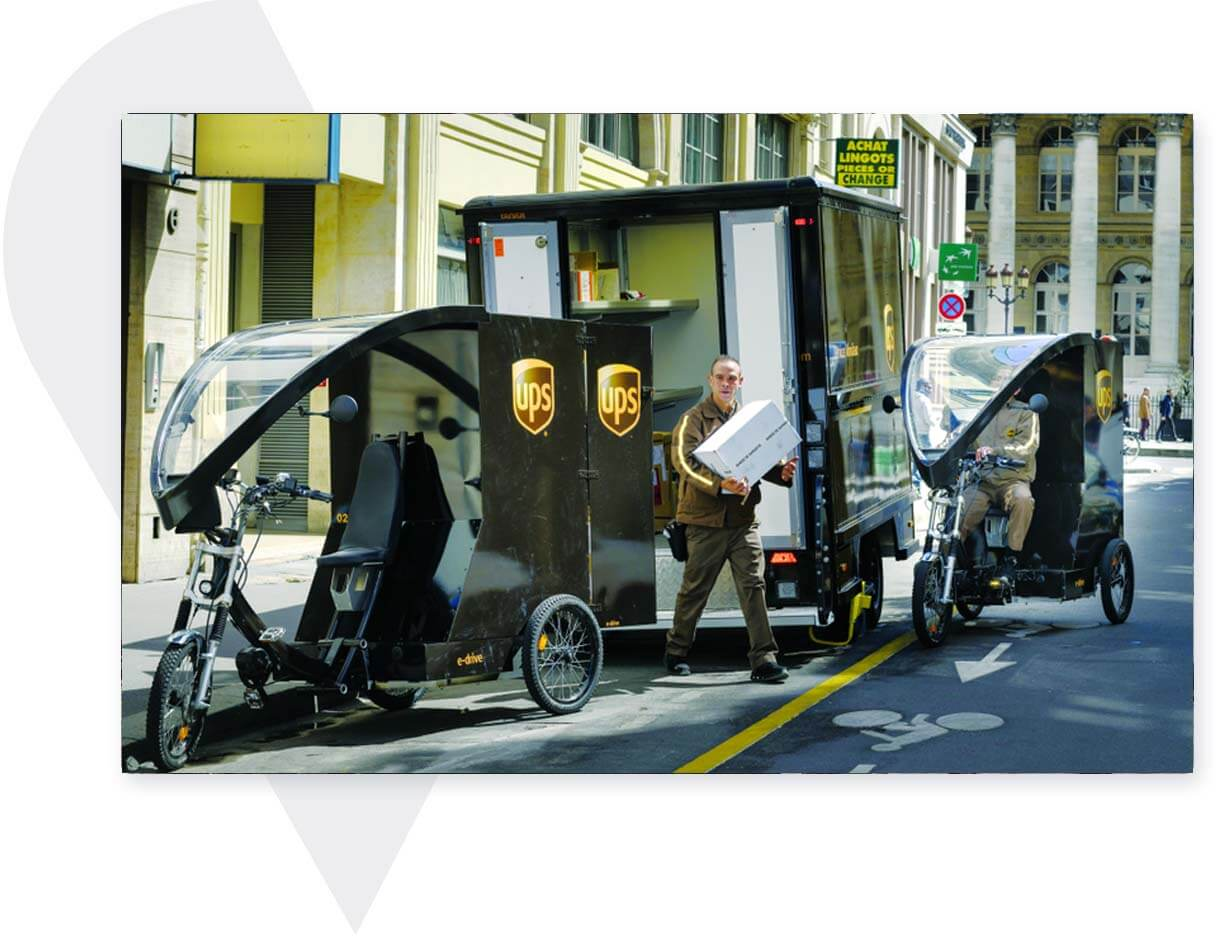 pedicab to transport people