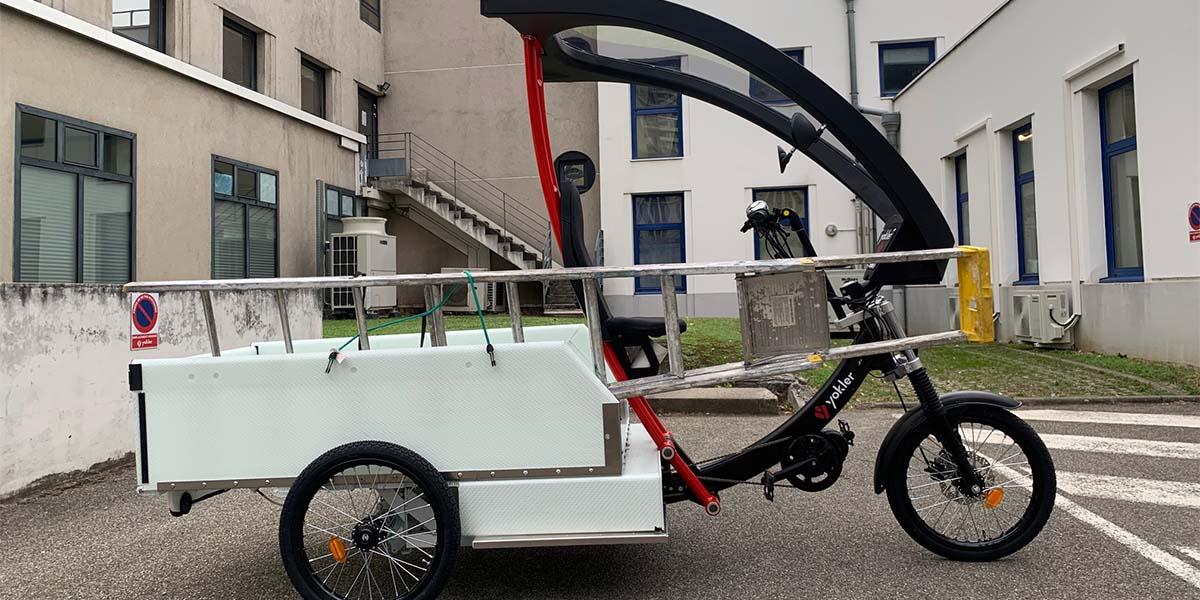 Comment transporter une échelle en triporteur