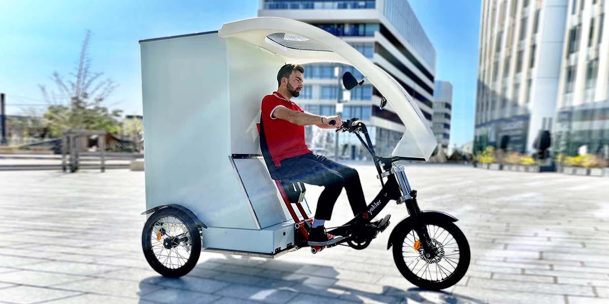 Cargobike triporteur electrique de livraison