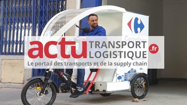 Triporteur logistique pour cogepart