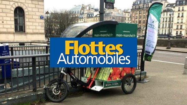 Triporteur et cargobike pour livrer les courses à domicile